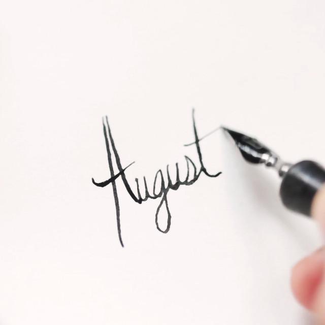 Calendar Project: August