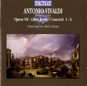 Vivaldi: Opera VII - Libro II - Concerti 1/6 Albumcover
