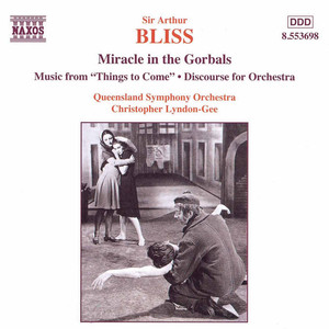 Bliss: Miracle in the Gorbals / Discourse for Orchestra album