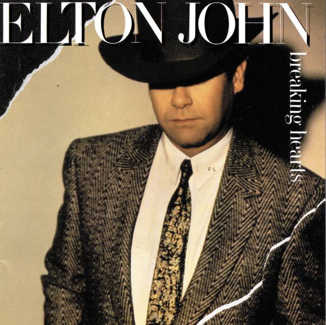 Elton John Breaking Hearts album cover