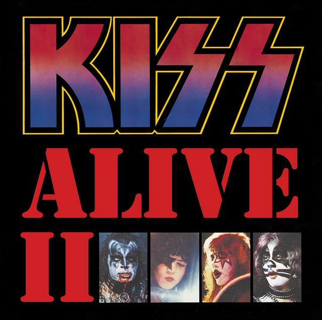 KISS Alive II album cover