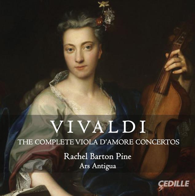 Vivaldi: The Complete Viola d'amore Concertos Albumcover
