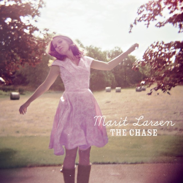 Album cover for The Chase by Marit Larsen