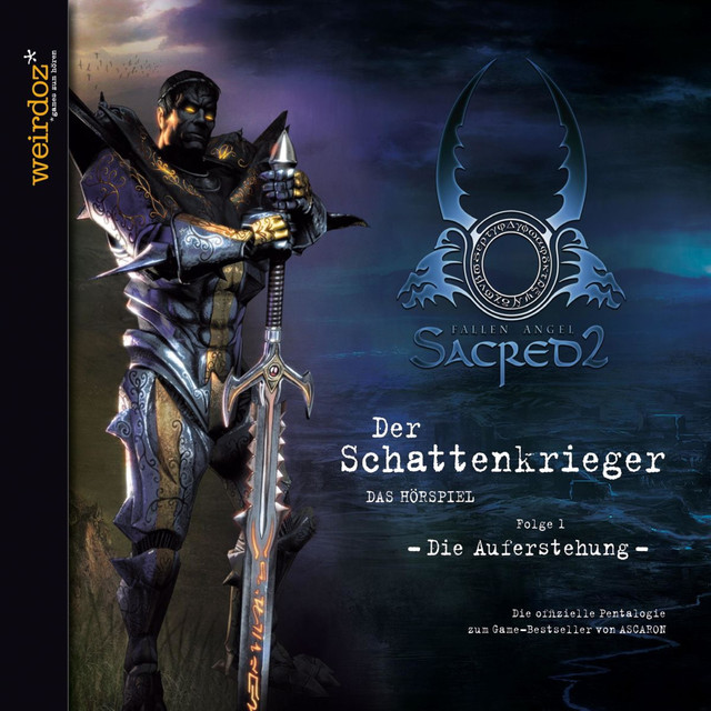 Sacred - Der Schattenkrieger - Folge 1 - Die Auferstehung Cover