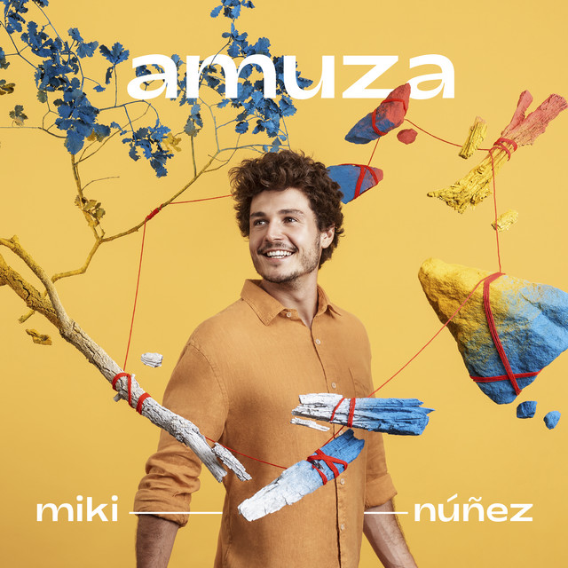 Album cover for Amuza by Miki Núñez