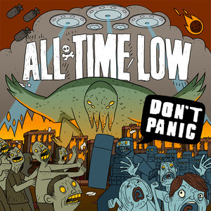 All Time Low The Irony of Choking on a Lifesaver cover