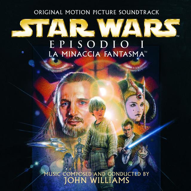 Star Wars Episodio 1: La minaccia fantasma: Original Motion Picture Soundtrack - Italian Version Albumcover