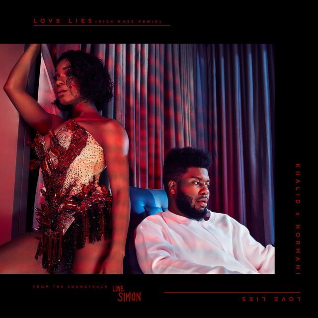 Rick Ross, Khalid, Normani Love Lies (Rick Ross Remix) album cover