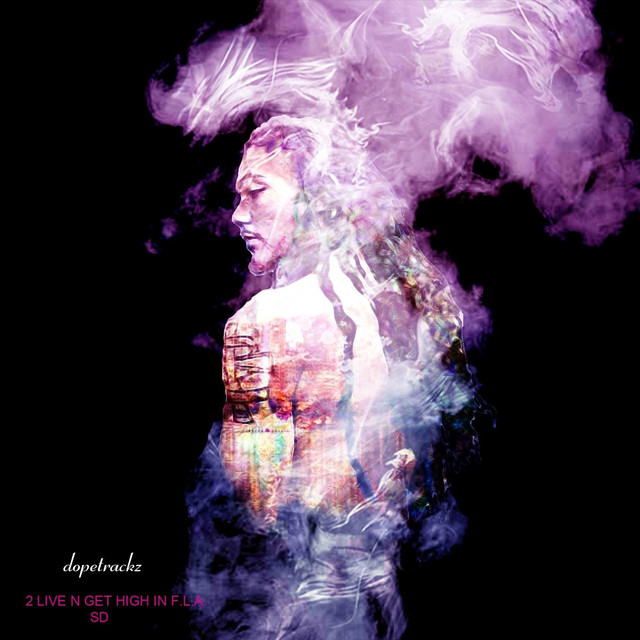 Album cover for 2 Live n Get High in F.L.A. SD by Dopetrackz