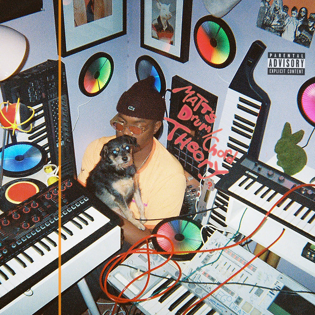 Album cover for The Drum Chord Theory by Matt Martians