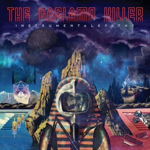 Album cover for Instrumentalepathy by The Gaslamp Killer