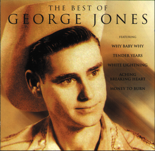 George Jones The Best of George Jones album cover