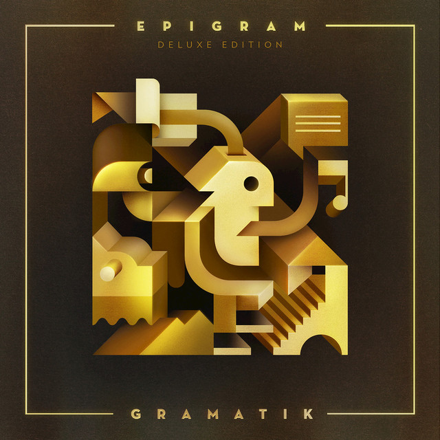 Album cover for Epigram: Deluxe Edition by Gramatik