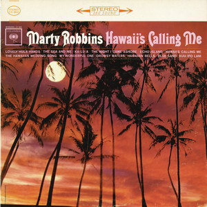 Marty Robbins Moonland cover