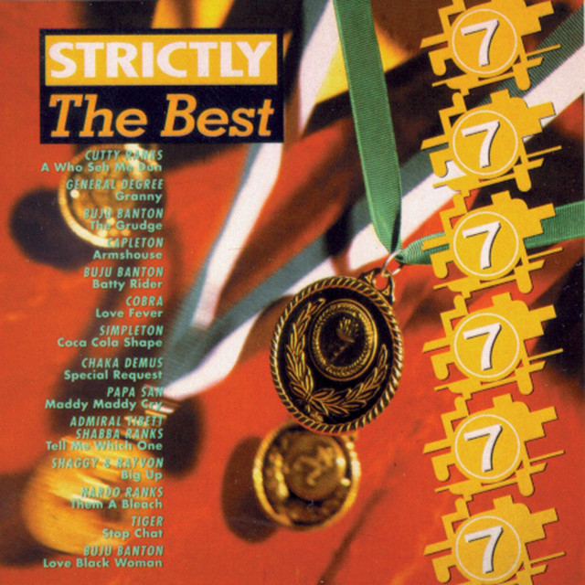 Various Artists Strictly The Best Vol. 7 album cover