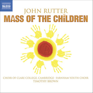 Rutter: Mass of the Children / Shadows / Wedding Canticle Albumcover