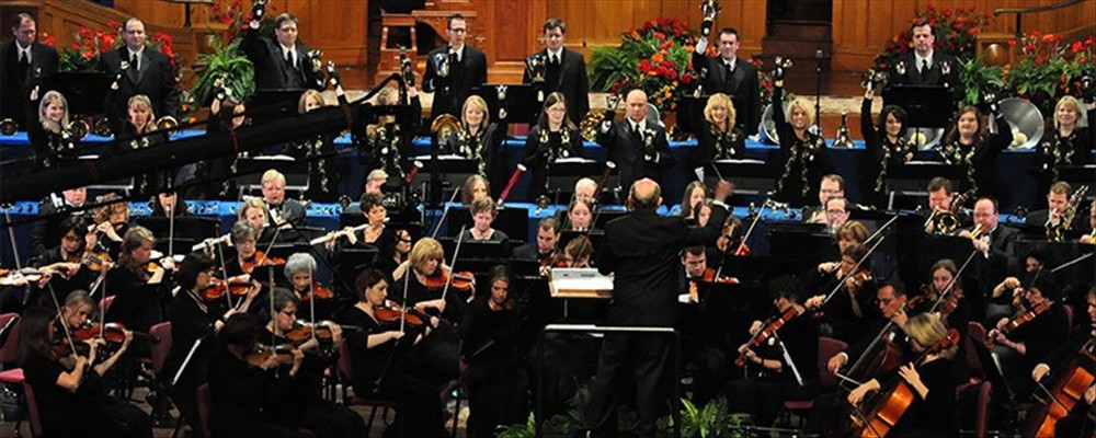 Orchestra at Temple Square