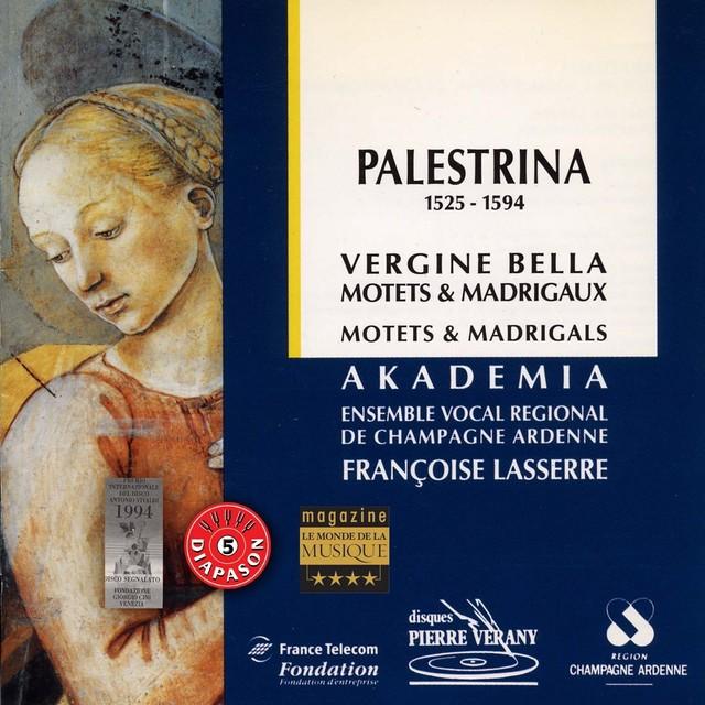 Palestrina : Vergine bella, Motets & madrigaux Albumcover