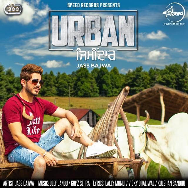 Album cover for Urban Zimidar by Jass Bajwa