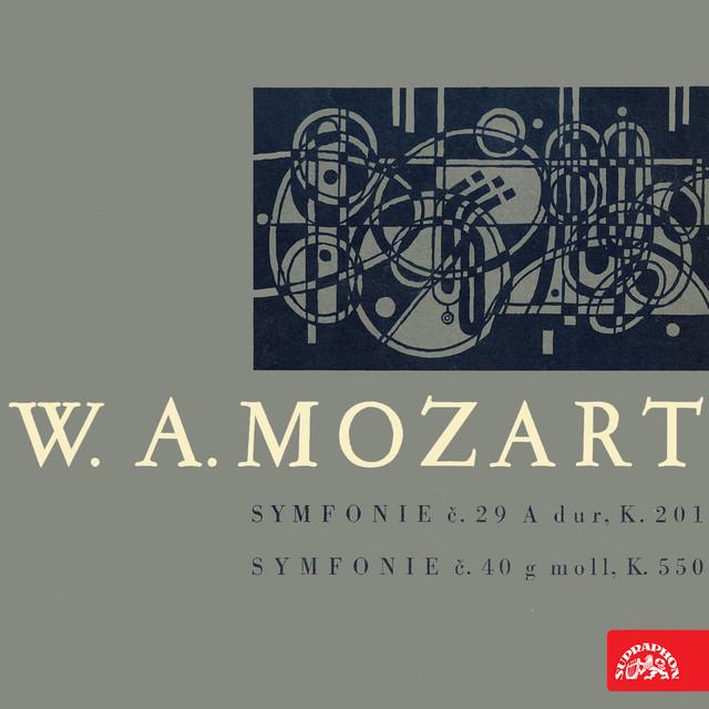 Mozart: Symphony No. 29 in A Major, Symphony No. 40 in G Minor Albumcover