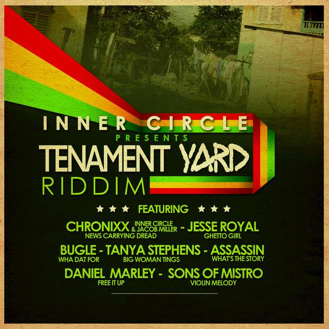 Tenement Yard Riddim Albumcover