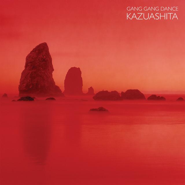 Skivomslag för Gang Gang Dance: Kazuashita