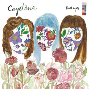 Album cover for Tired Eyes by Cayetana