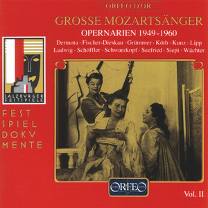 Grosse Mozartsänger, Vol. 2 Albümü