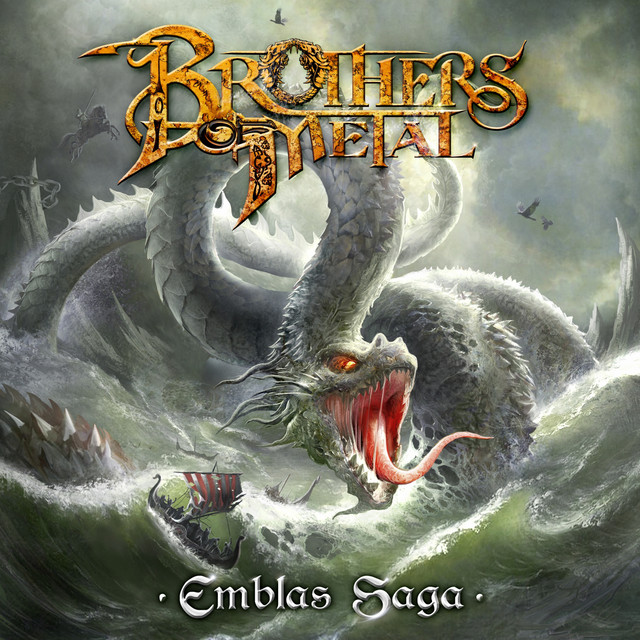 Album cover for Emblas Saga by Brothers of Metal
