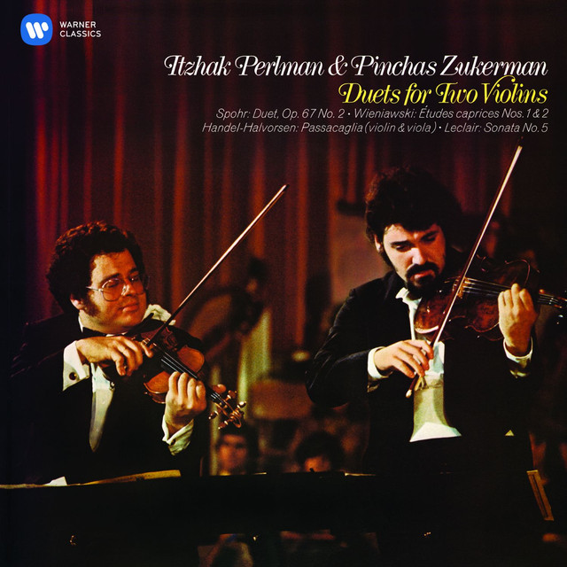 Perlman & Zukerman - Duets for Two Violins Albumcover