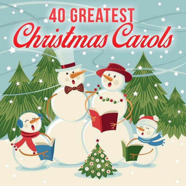 40 greatest christmas carols by various artists on spotify