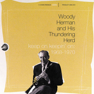 Woody Herman, Woody Herman & His Thundering Herd Blues In The Night cover