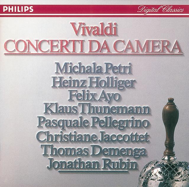 Vivaldi: 9 Concerti da Camera Albumcover