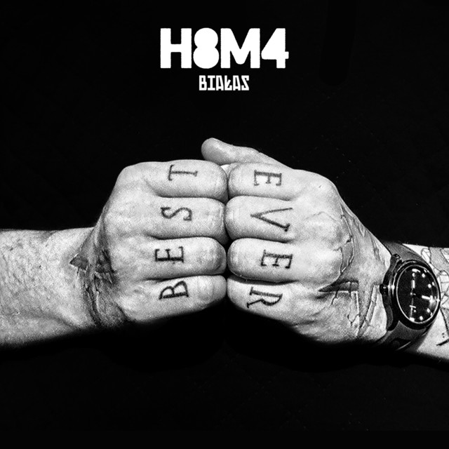 Album cover for H8M4 by Białas