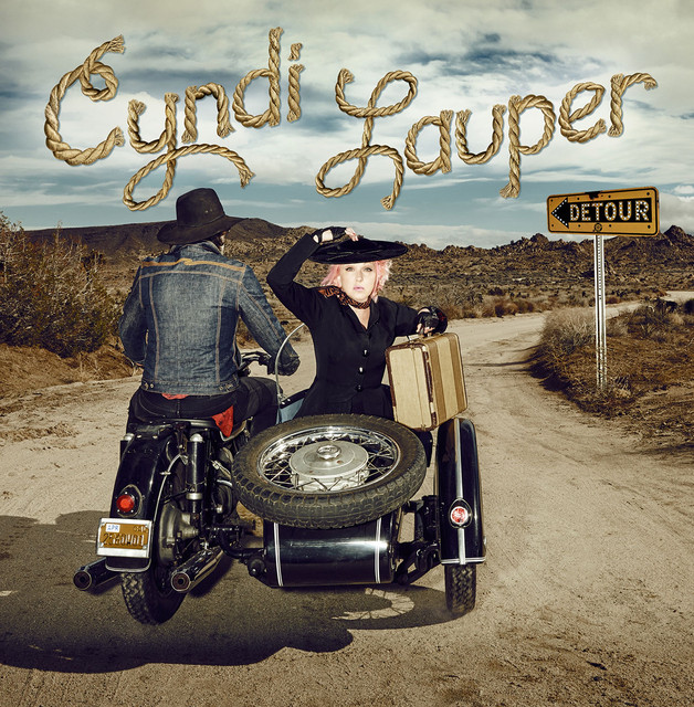 Album cover for Detour by Cyndi Lauper