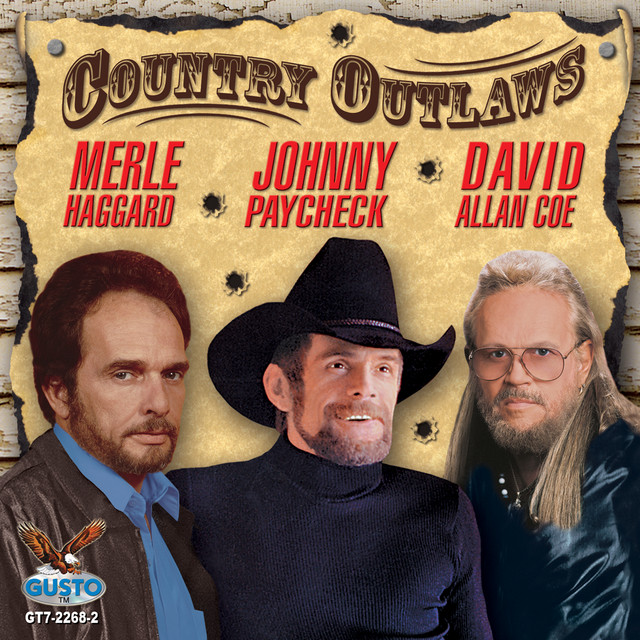 Various Artists Country Outlaws album cover