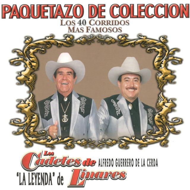Album cover for Los 40 Corridos Mas Famosos by Los Cadetes De Linares
