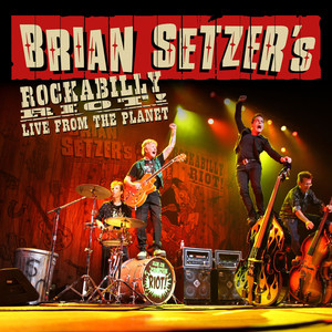 Brian Setzer Rumble in Brighton cover