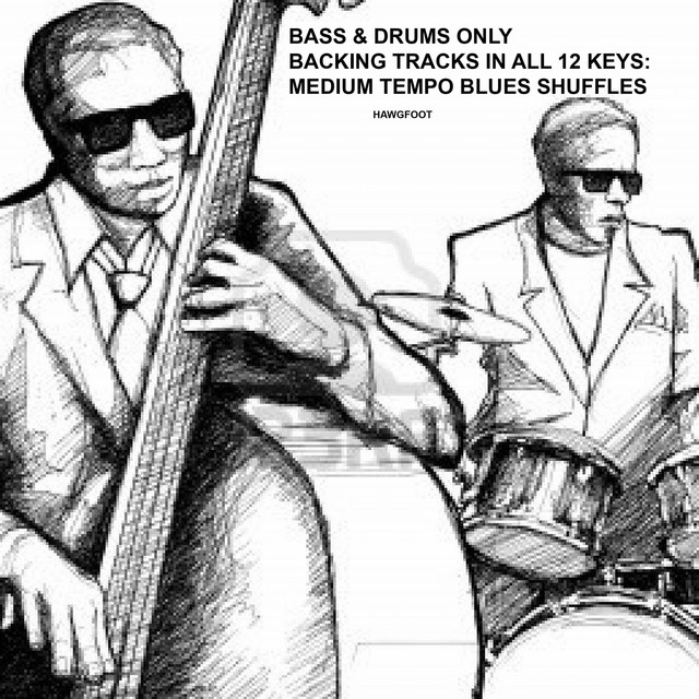 Bass & Drums Only Backing Tracks In All 12 Keys: Medium