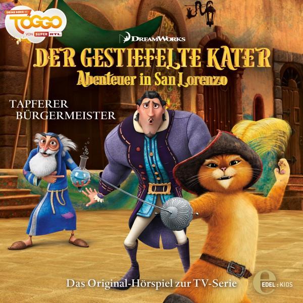 Folge 4: Tapferer Bürgermeister (Das Original-Hörspiel zur TV-Serie) Cover