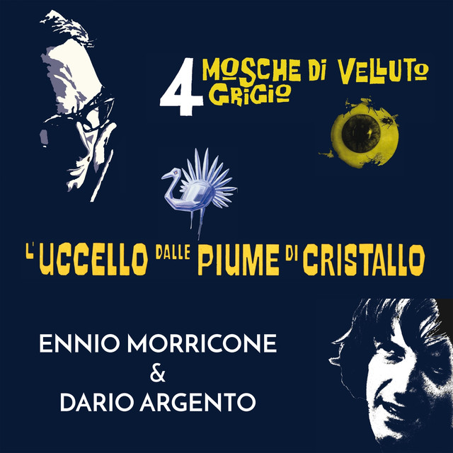 Ennio Morricone & Dario Argento Albumcover