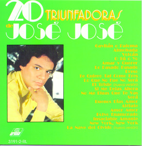 20 triunfadoras de José José album