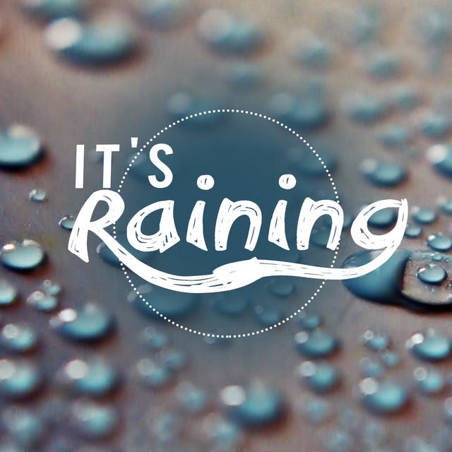 It's Raining Albumcover