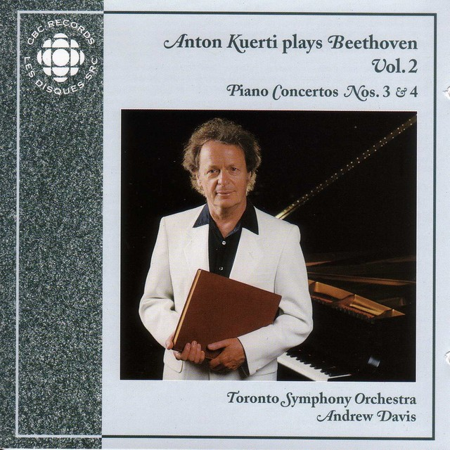 Anton Kuerti Plays Beethoven, Vol. 2 Albumcover