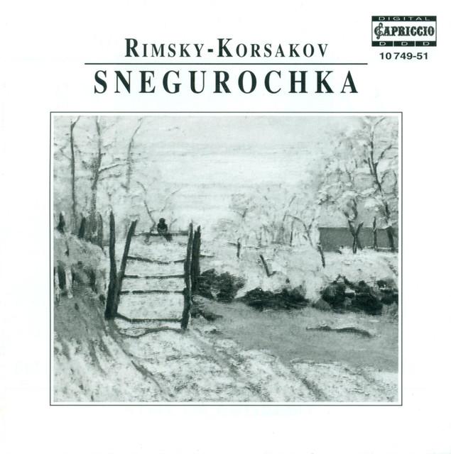 Rimsky-Korsakov: Snegurochka (The Snow Maiden) Albumcover