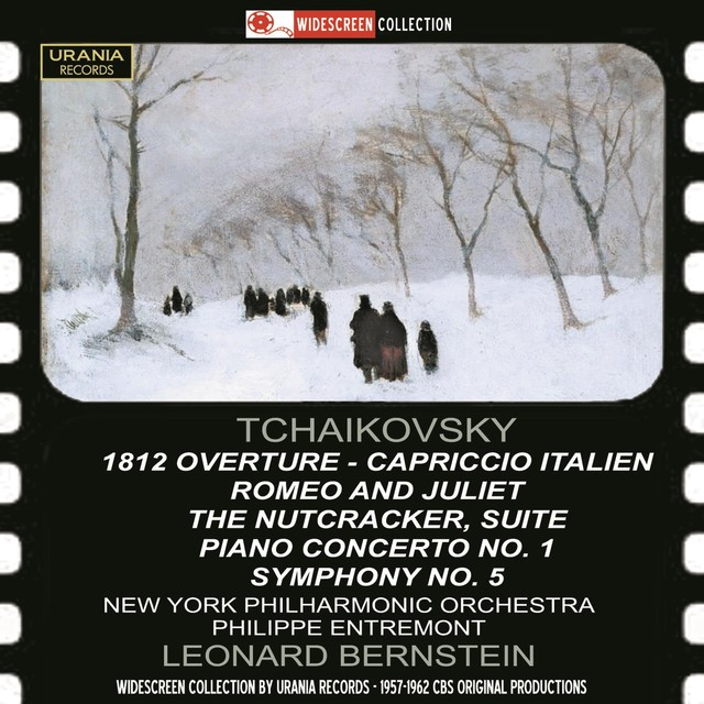 Tchaikovsky: 1812 Overture, Capriccio Italien, Romeo & Juliet, The Nutcracker Suite, Piano Concerto No. 1 & Symphony No. 5 Albumcover
