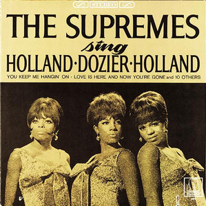 The Supremes Love Is Here and Now You're Gone cover
