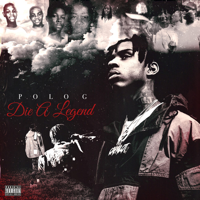 Album cover for Die A Legend by Polo G