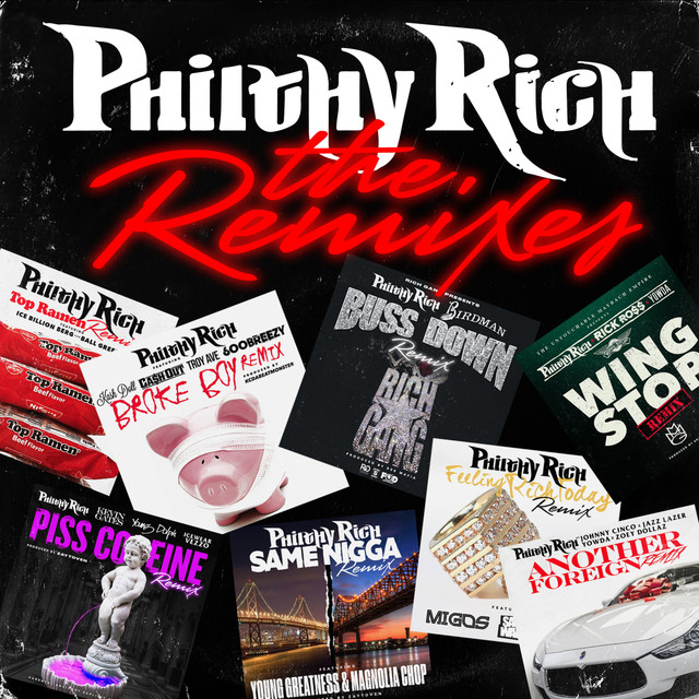 Top Ramen - Remix, a song by Philthy Rich, Ice Billion Berg