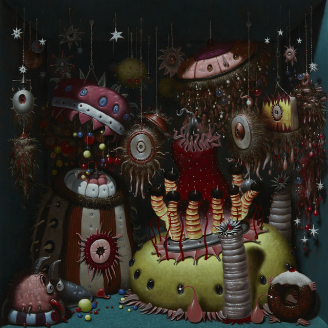 Album cover for Monsters Exist (Deluxe) by Orbital